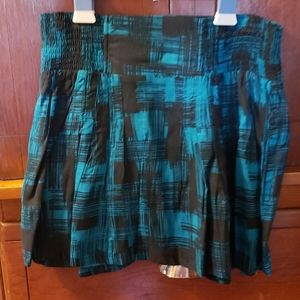 Never Worn High Waisted Elastic Waist Skirt